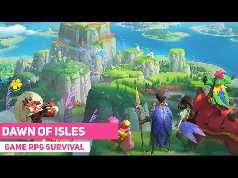 Grafiknya Menyejukkan Mata - Dawn of Isles dari NetEase - ( Akatsuki land ) Gameplay Indonesia - 동영상