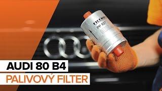 Užívateľská príručka Audi 80 B3 online