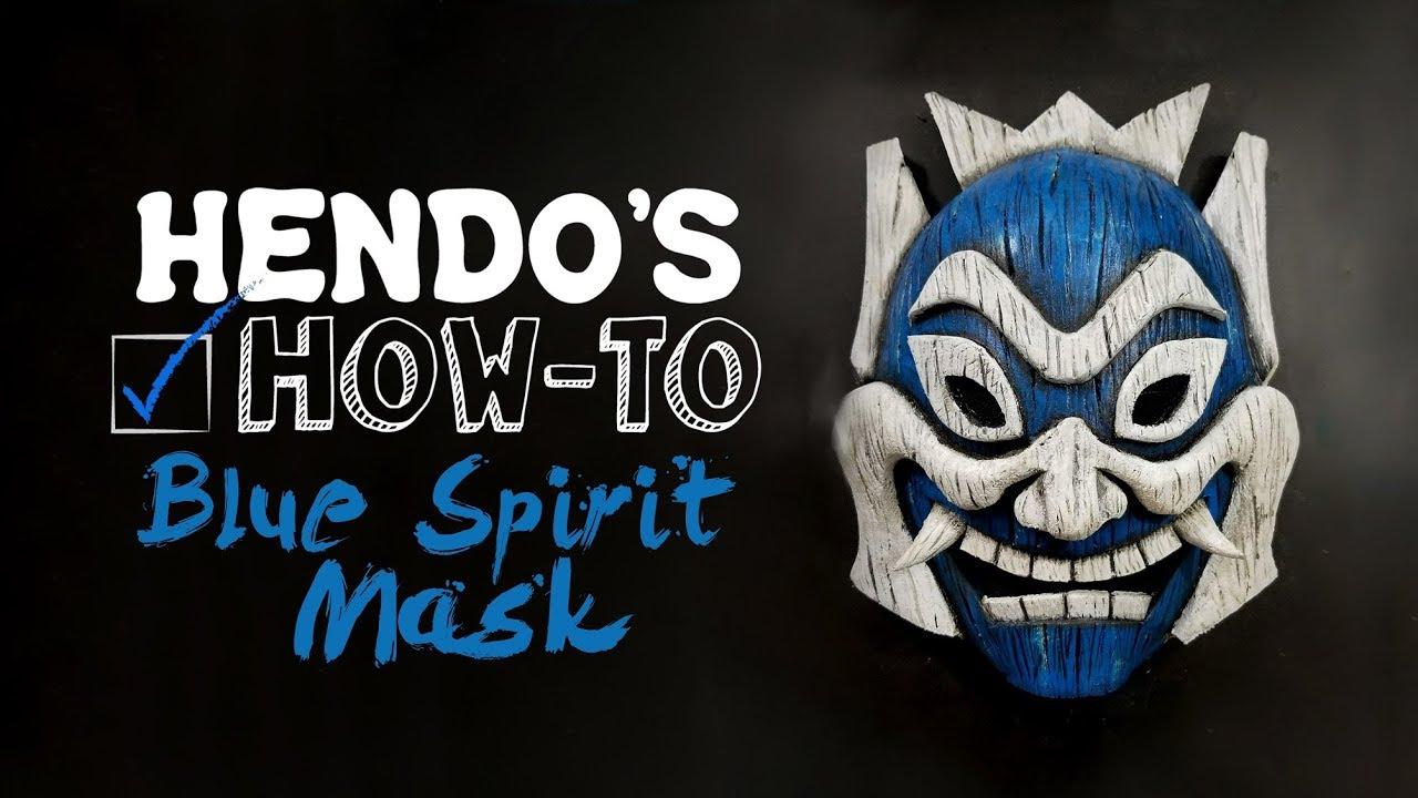 Avatar Zuko/'s Mask Cosplay Blue Spirit Helmet Costume Props