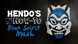 How-To: BLUE SPIRIT AVATAR MASK (With Pattern)