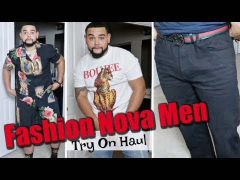 First FashionNova Try On Haul | Fashion Nova Men x FN Curve
