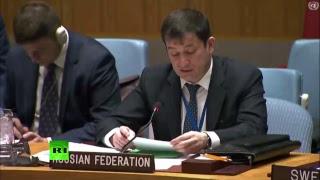 Заседание Совбеза ООН по ситуации в Сирии