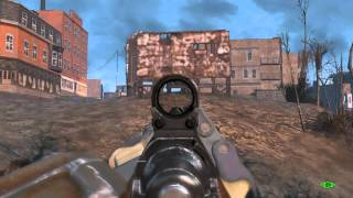 Fallout 4 - Город City 3 Лаги и Баги - Lags and Bugs