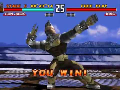 Tekken 3 Gun Jack Arcade Mode My Gameplay Youtube