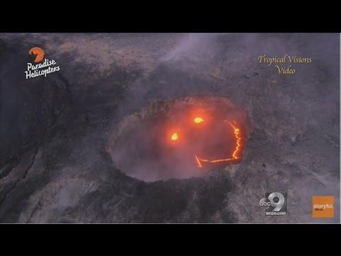 Volcano Smiley Face