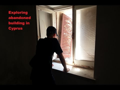 Exploring abandoned building in Cyprus