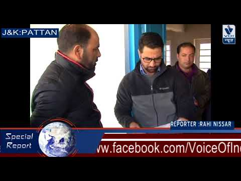 Tehsildar Pattan pay's surprise visit to examination center's in pattan