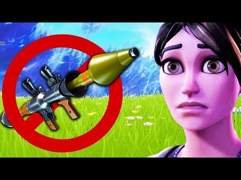 the RPG is DEAD in Fortnite, NO BUILDING Game Mode, STINK BOMB Gameplay (HUGE PATCH UPDATE)