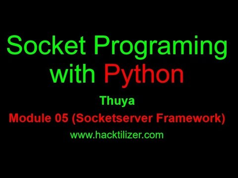 how to prepare a server socket in python