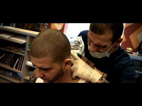 Reklama Studia Tattoo Kamuflaż