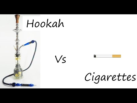 Hookah Science: hookah is safer than cigarettes