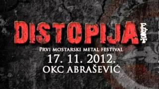 KOOGA: Distopija fest 2012 - Prvi mostarski metal festival