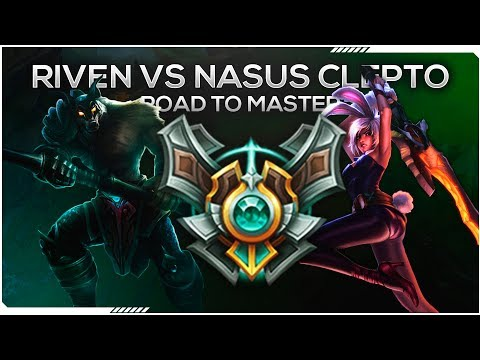 RIVEN VS NASUS  ASCO DE MATCHUPPPP F*** NASUS CLEPTO