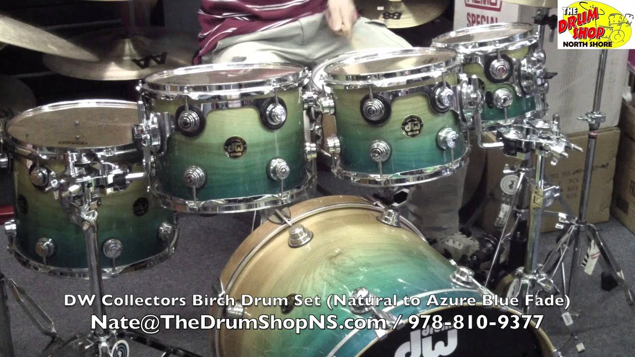 Dw Shop Dw Collectors Birch 20 8 10 12 14 The Drum Shop North Shore