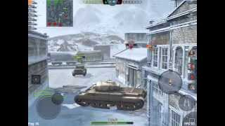 World of tanks blitz (T-32,Tiger II,IS-3,Caernarvon) Tiers 8