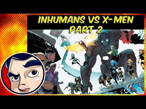 "Inhumans Vs X-Men ""A New Era"" #2 - InComplete Story 