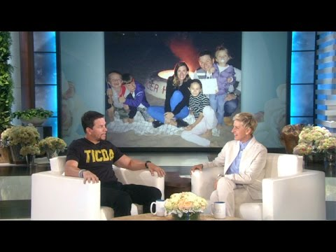 Mark Wahlberg Was Playing Golf When His Wife Went into Labor