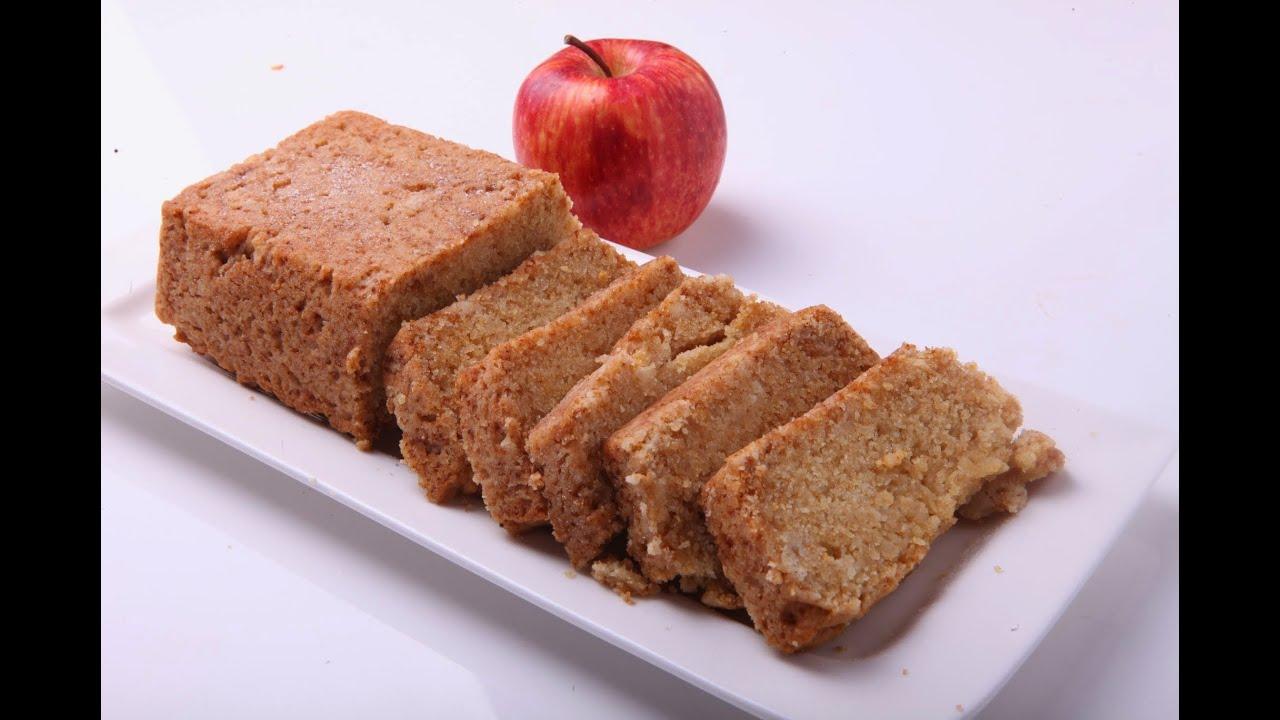 Eggless Cake Recipe In Pressure Cooker In Telugu: EGGLESS APPLE TEA CAKE