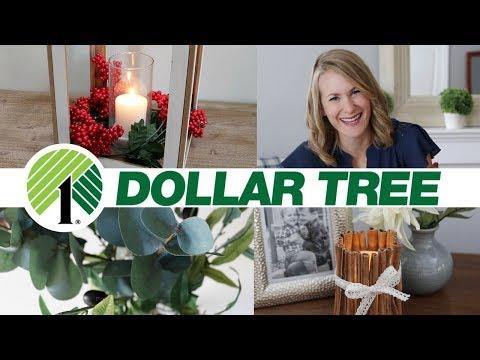 Pottery Barn Dollar Tree DIYs! 💙 Fall & Christmas Decor 2018