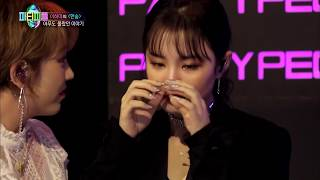 "[JYP's Party People] Ep 5_Lee Hi cries after singing ""Breathe"""