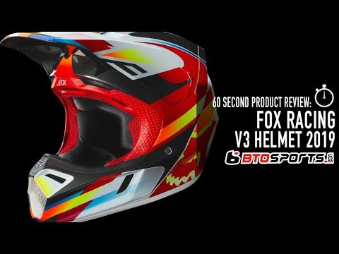 Blue//Red Kila Fox Racing 2019 V3 Helmet Visor Large//X-Large