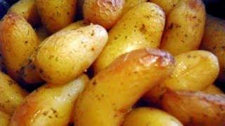 Картофель запеченный в пакете.  Как приготовить