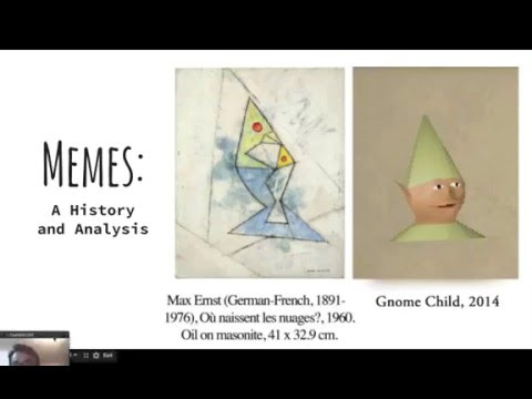 Memes: A Microcosm of Art History (Part 1 - History & Theory of Memetics)