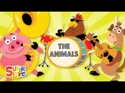 The Animals On The Farm | Super Simple Songs