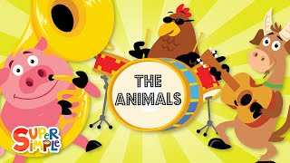 Kijk The animals on the farm filmpje