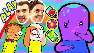БолтушкА и ПРоХоДиМеЦ ищут Новых Поразительных МОРТИ! #206 Игра для Детей   Pocket Mortys