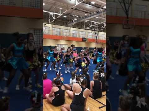 Greer High School Cheerleaders 2018 HomePom Dance