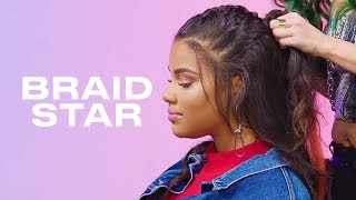 How to Style a Five-Strand French Braid feat. Kamie Crawford | Braid Star  | ELLE