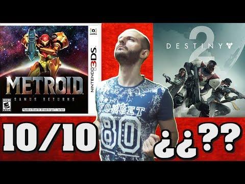 ¡¡¡METROID SAMUS RETURNS DEJA EN RIDÍCULO A DESTINY 2!!! – Sasel – 3ds – Nintendo – Análisis