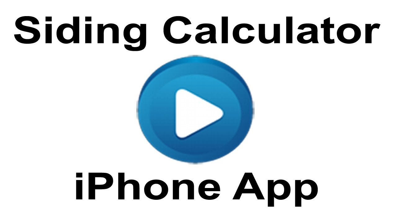 Siding Calculator App for iPhone & Android - Siding Cost Calculator