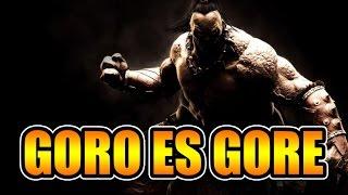 Mortal Kombat X: Goro es muy gore XD