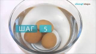 Как сварить яйца, чтобы они легко чистились.