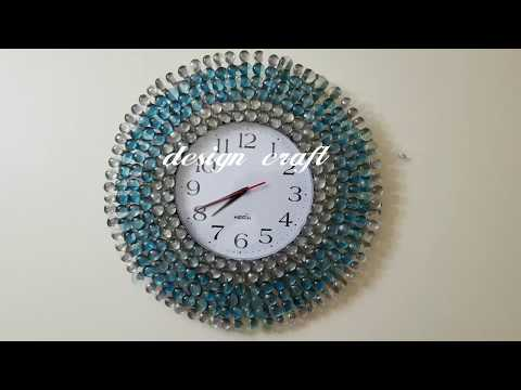 DIY Crafts Ideas:  Home decor wall clock ..