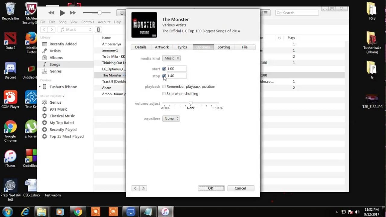 how to make custom iphone ringtone on itune on windows youtube
