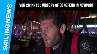 Volvo Ocean race 2014/15 - Victory for DongFeng in Newport  , leg6