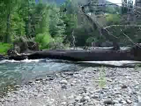 Kayaking strainer - YouTube