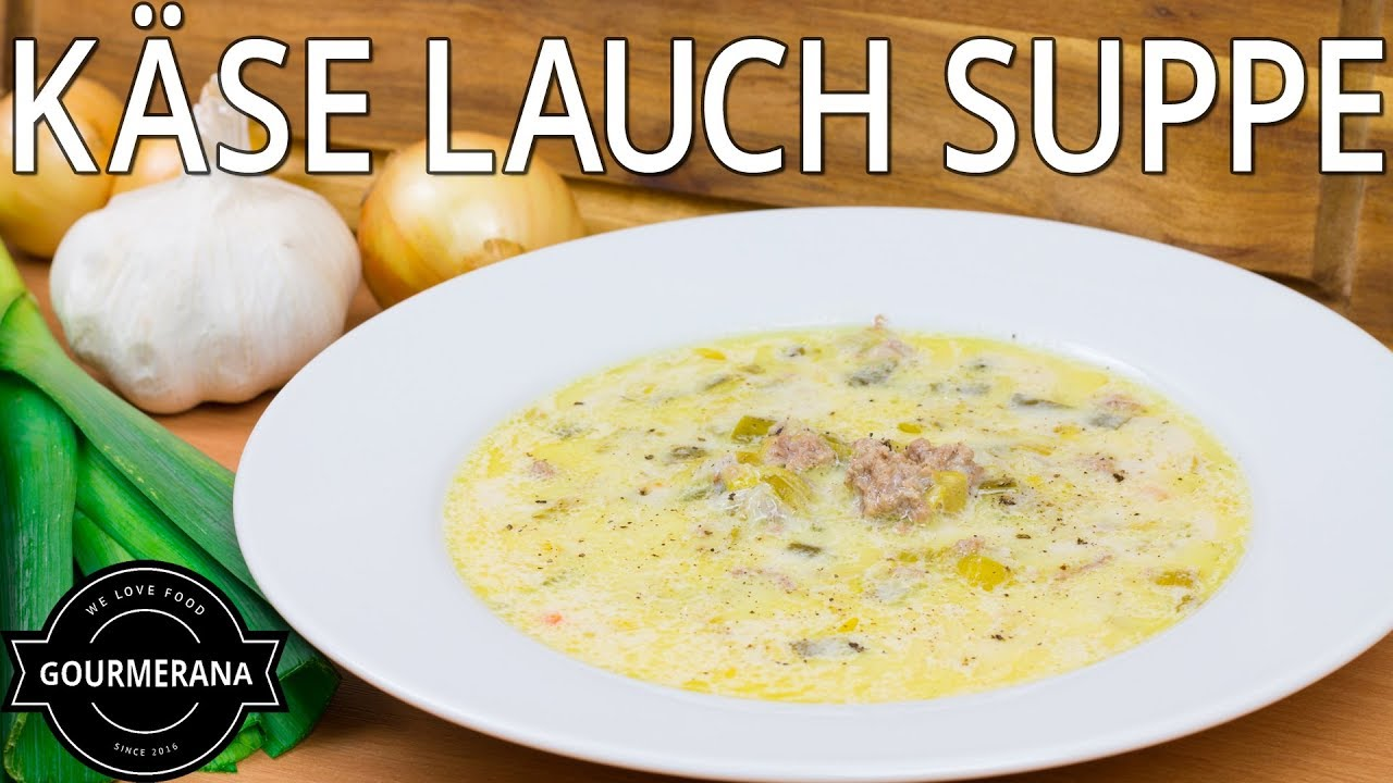 Rezept Käse Lauch Suppe - Stop Motion Animation - YouTube