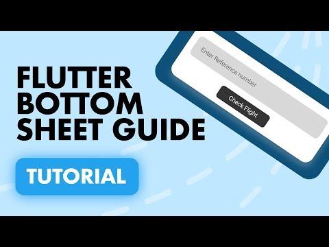 A Beginners Guide to the Flutter Bottom Sheet   Tutorial