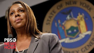 WATCH: New York Attorney General Letitia James files lawsuit to dissolve NRA
