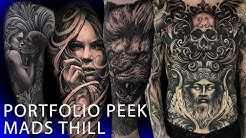 Portfolio Peek - Mads Thill
