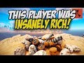 The RICHEST Player I've Ever Slayed! - Rust Solo Survival Gameplay