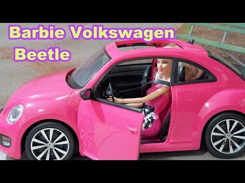 Barbie Volkswagen Beetle and Doll Playset review