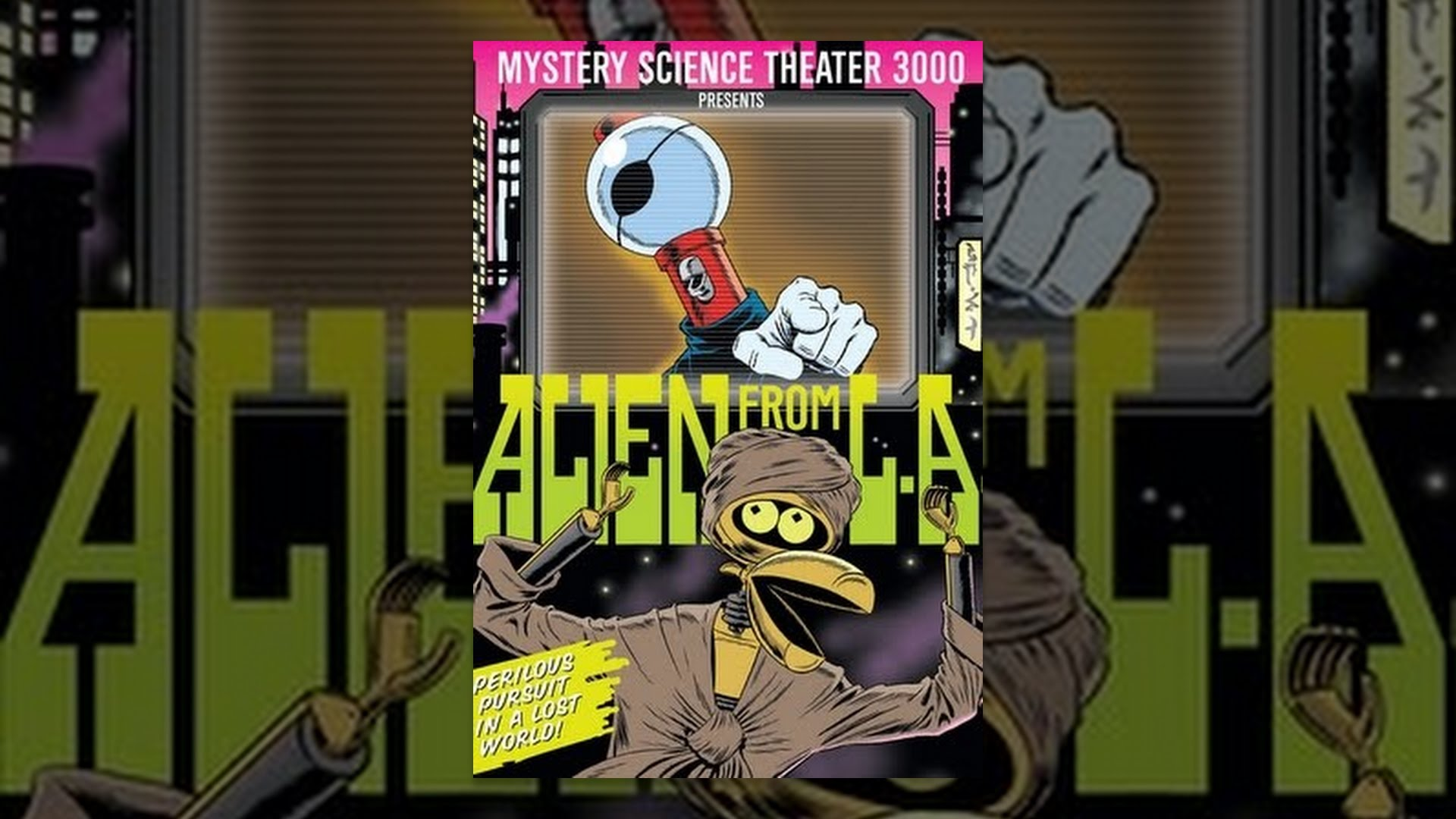 Mystery Science Theater 3000: Alien From L.A.