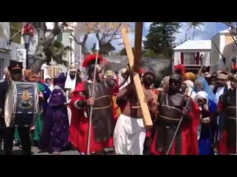 Good Friday Crucifixion Reenactment 2013