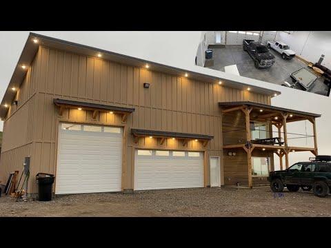#022 60x40 Shop House Walkthrough! (Shouse, Garage with living quarters, Barndominium?)