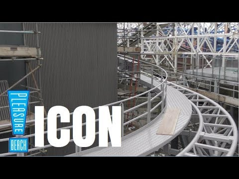 Blackpool Pleasure Beach Icon Construction Update - 11th March 2018